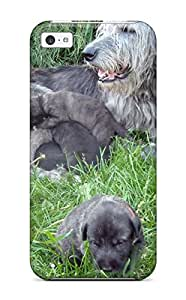 Everett L. Carrasquillo's Shop 3122125K73430374 Case Cover For ipod touch4 - Retailer Packaging Irish Wolfhound Puppies Protective Case