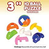 IQ Challenge Set by GamieUSA - 7 Pcs Kids Educational Toys for 5+ Year Olds - Highly Stimulating Brain Teasers - Challenging Mental Exercises for Sharp Young Minds - 100% Child Safe