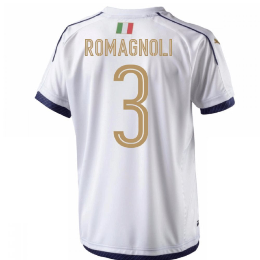 2006  Tribute Away Football Soccer T-Shirt Trikot (Alessio Romagnoli 3)