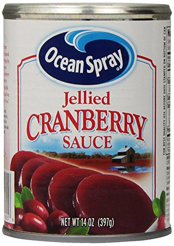 Price comparison product image - Ocean Spray Jellied Cranberry Sauce 14 oz