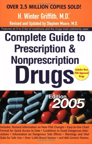 Download Complete Guide to Prescription and Nonprescription Drugs 2005 (Complete Guide to Prescription & Non-Prescription Drugs) B00BRARGJ0