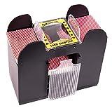 9. Silly Goose Automatic 6-Deck Card Shuffler; Poker, Blackjack