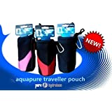 Pure Hydration Aquapure Traveller Pouch Military Drinks Holster Pink/Black