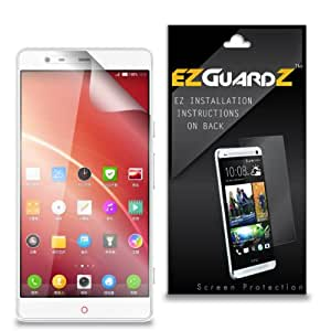 (4-Pack) EZGuardZ Screen Protector for ZTE Nubia X6 (Ultra Clear)