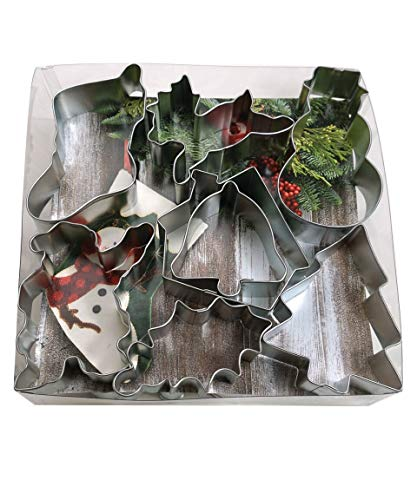 R&M International 1905 Christmas Cookie Cutters, Assorted Designs, 15-Piece ()
