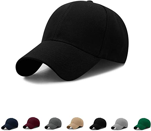 Adjustable Baseball Caps Men Women Cottons Flats Sun Protection Hats Accessories
