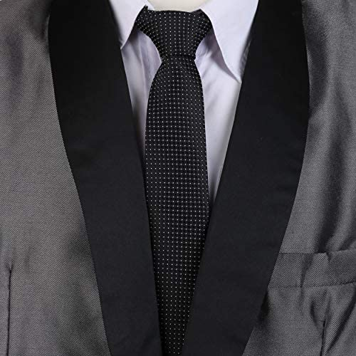 LANSILK Men Business Tie Set - Selección de corbata delgada ...