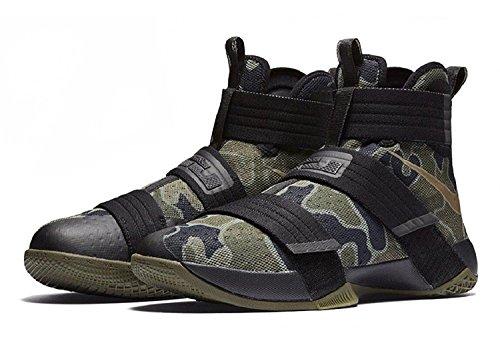 Chaussures Pour Basket Moyen 022 noir Noir Bambou De olive Hommes 844378 Nike Hpq1XWwUEa
