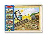 Construction Jigsaw Wooden Melissa Doug Vehicles Puzzles 48 Puzzle 4 1 Pcs Stora