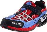 Stride Rite Spider-Man Web-Slinger Sneaker (Toddler/Little Kid), Red/Blue, 11.5 W US Little Kid