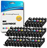 30 (5 SETS) Compatible PGI-525 CLI-526 Ink Cartridges for Canon Pixma MG5150 MG5250 MG6150 MG6250 MG8150 MG8250 MX885 iP4850 iP4950 iX6550 - Black/Photo Black/Cyan/Magenta/Yellow/Grey, High Capacity
