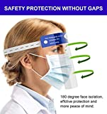 2PCS Safety Face Shield Reusable Full Face