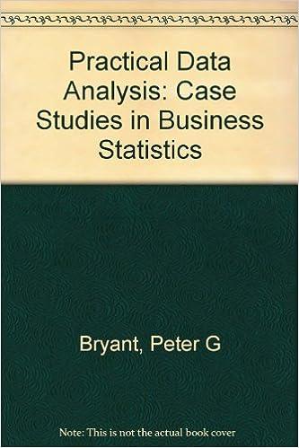 Business Statistics Case Studies