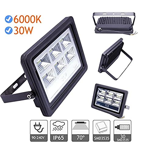 Foco proyector led de 20W a 200W exterior IP65 luz blanca cfria ...