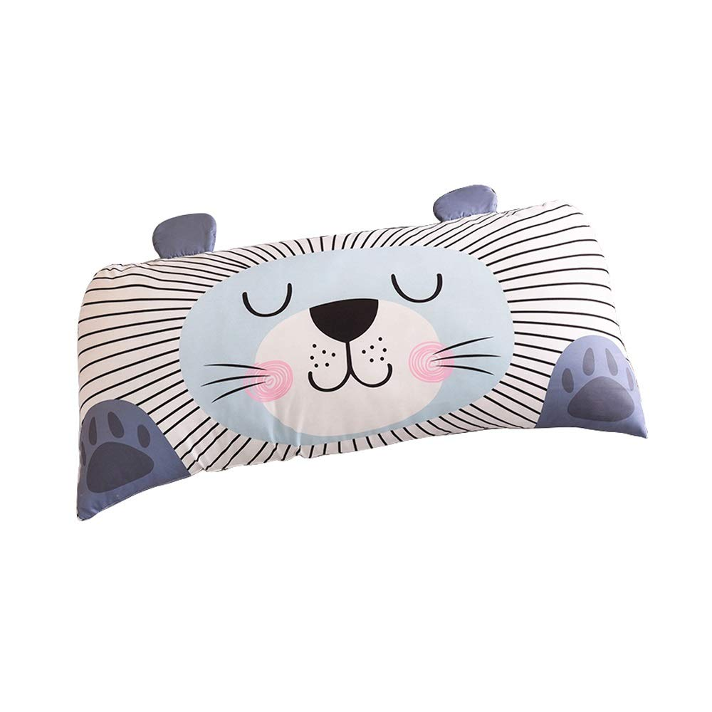 PingFanMi Cute Animal Bed Headrest Household Tatami Back Sofa Nap Lumbar Pillow 50x110cm by PingFanMi