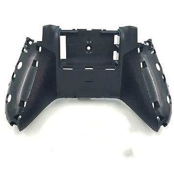 Bottom Back Housing Shell Case Cover for Xbox One S Slim Anti Slip Controller Grey