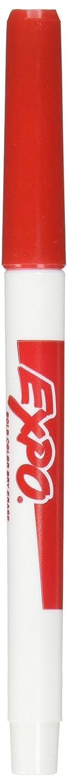 Expo Low Odor, Fine Tip, Dry, Erase Marker, 2 Packs of 12, Blue Sanford