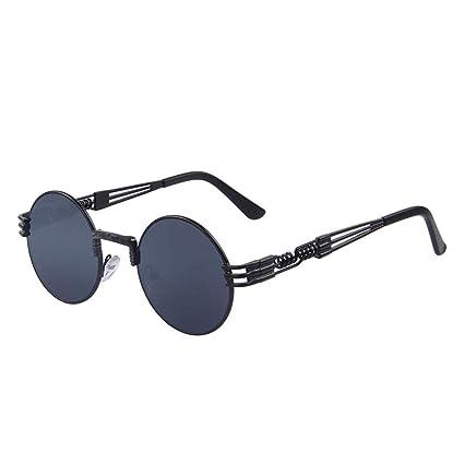b341a92893b Women Steampunk Sunglasses Men Retro Round Sunglasses Metal Sun Glasses Men  Oculos De Sol UV400 C01