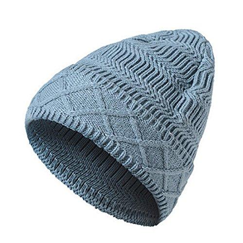 Gorro de gorros Gorro KeepSa Mens Unisex de caliente invierno de Beanie lana 2017 Womens punto Brandnew suave gris sombreros Zzqzdwnr