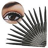 12PC/Set Waterproof Eyeliner; Mosunx Makeup Black