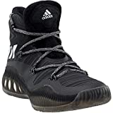 adidas Men's Crazy Explosive Basketball Shoes, Black 1/White, ((8 M US)