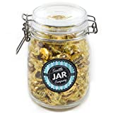 #9: Werther's Original Candy Jar – Airtight and Reusable Glass Candy Jar with Lid – Large