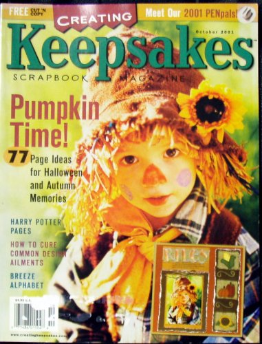 Creating Keepsakes Scrapbook Magazine October 2001