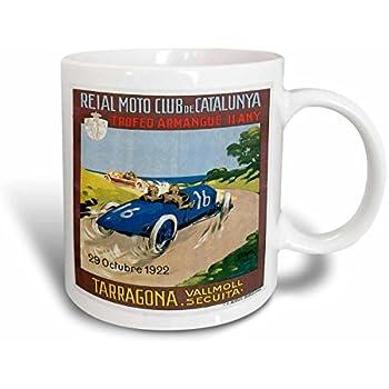 3dRose 114154/_1 Vintage Harry Kellar Magician Advertising Poster Ceramic mug 11 oz White