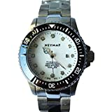 NEYMAR 31mm Automatic watch 500m Dive Watch Swiss 2824 Automatic Movement black face (stainlelss stee/white surface)