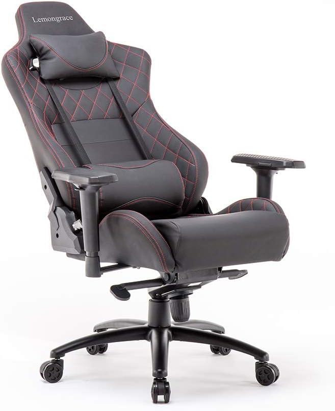 Amazon Com Lemongrace Reclining Office Desk Chair Adjustable High Back Ergonomic Computer Mesh Recliner Home Office Chairs Kitchen Dining