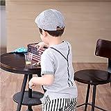 jerague Baby Toddler Kid Boy Newsboy Hat Stripe