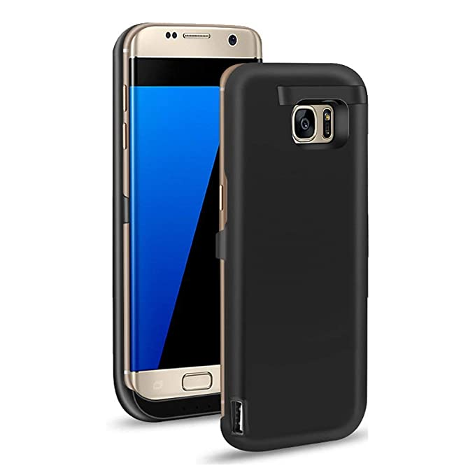 new concept 1ce1f 4e60c BIGFOX Samsung Galaxy S7 Edge Battery Case - 6500mAh Ultra Slim  Rechargeable Extended Battery Charging Case Samsung Galaxy S7 Edge, Charger  Case Power ...