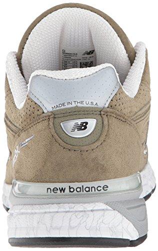 New Balance Men's 990v4 Running Shoe, Covert Green/White, 7 D US by New Balance (Image #2)