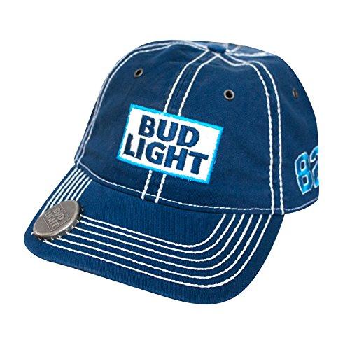 bud-light-adult-adjustable-buckle-back-baseball-cap-with-bottle-opener-royal-blue