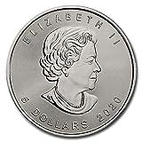 2020 CA CA Canada Lot of (5) 1 oz Silver Maple Leaf