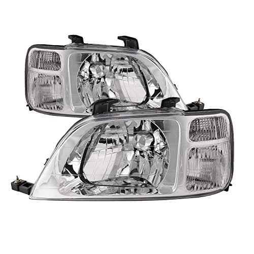 - Headlights Depot Replacement for Honda CRV Headlights OE Style Replacement Headlamps Driver/Passenger New