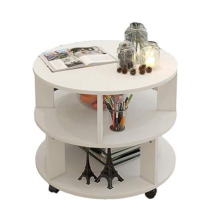 Round Coffee Table Storage 5