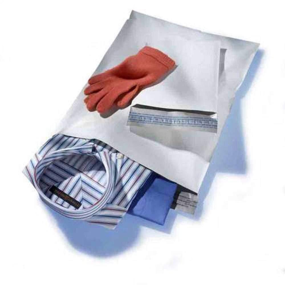 Poly Mailer Envelopes White 100 Pack Self Adhesive Sealing Strip 6 x 9 Inch