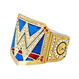 WWE Authentic Wear WWE SmackDown Women's Championship Finger Ring Gold