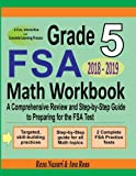 img - for Grade 5 FSA Mathematics Workbook 2018 - 2019: A Comprehensive Review and Step-by-Step Guide to Preparing for the FSA Math Test book / textbook / text book