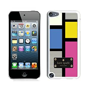 Hot Sale iPod Touch 5 Screen Cover Case With Kate Spade 229 White iPod Touch 5 Case Unique And Beautiful Designed Phone Case