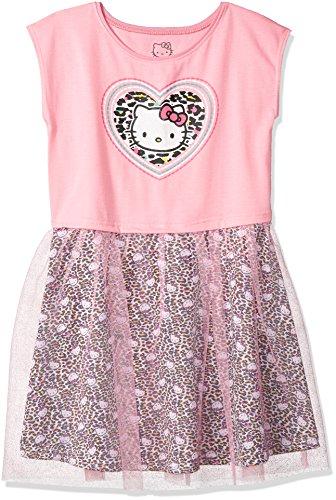 Hello Kitty Big Girls' Embellished Tutu Dress, Light Pink, 10
