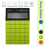 DL 1209 dual power 8 digit calculator (1589 green)