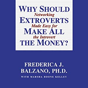 Why Should Extroverts Make All the Money? Audiobook