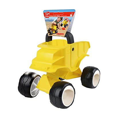 Hape Kid's Dump Truck, Yellow, One Size: Clothing