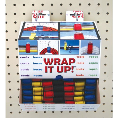 (Kwik Tek WR-12100 WRAP IT UP! Marine 100 Display Assorted Colors)