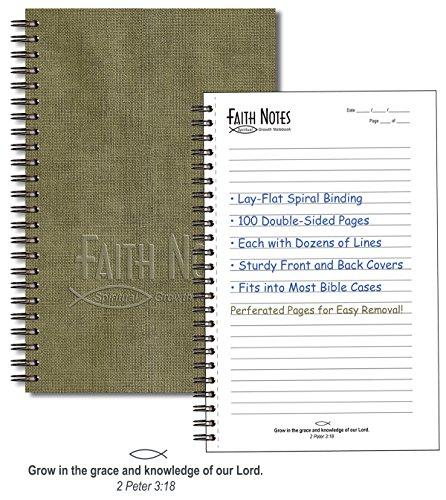 Faith Notes Bible Study Notebk