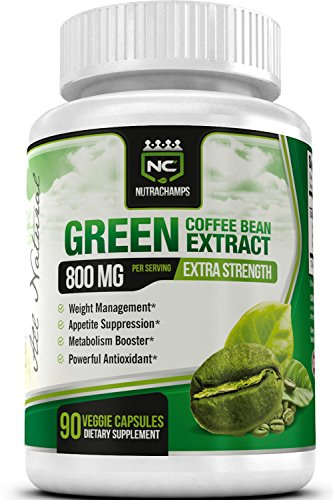 NutraChamps Green Coffee Extract Capsules product image