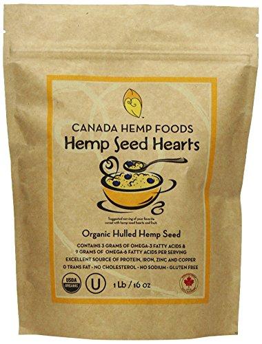 Canada Hemp Foods Organic Hearts product image