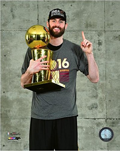 Kevin Love Cleveland Cavaliers 2016 NBAファイナルトロフィーフォト 20